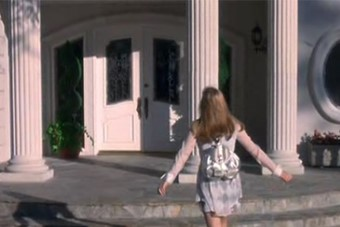 Silver Rucksack in Clueless, 1995