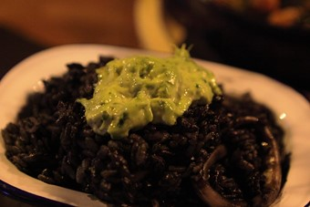 Black rice at Black Pig