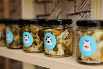 Transylvanian 'living vegetable pickles' at the House of Fer