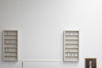 Edmund de Waal's studio, London