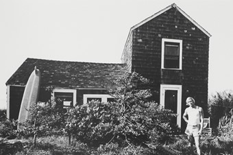 Paul Thek Outside Oakleyville House, 1966