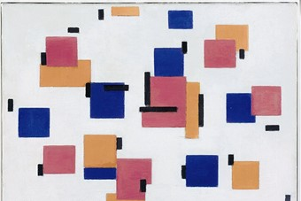 Piet Mondrian, Composition in Colour B, 1917