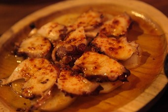 Pulpo a la Gallega at the Black Pig