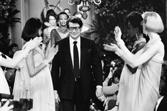 The first Yves Saint Laurent collection, January 1962