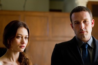 Olga Kurylenko and Ben Affleck in To The Wonder