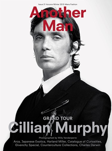 Cillian Murphy for Another Man A/W15