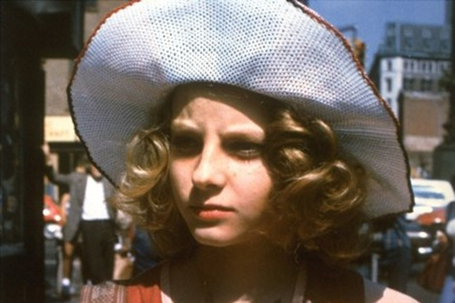 "Jodie Foster as Iris ""Easy"" Steensma in Taxi Driver, 1976"