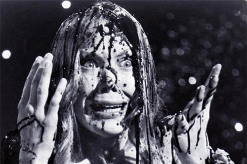 Sissy Spacek in Carrie, 1976