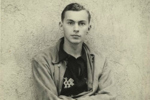 A young Gore Vidal in Guatemala in 1947