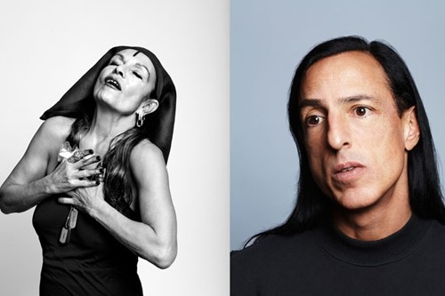 Rick Owens and Michelle Lamy