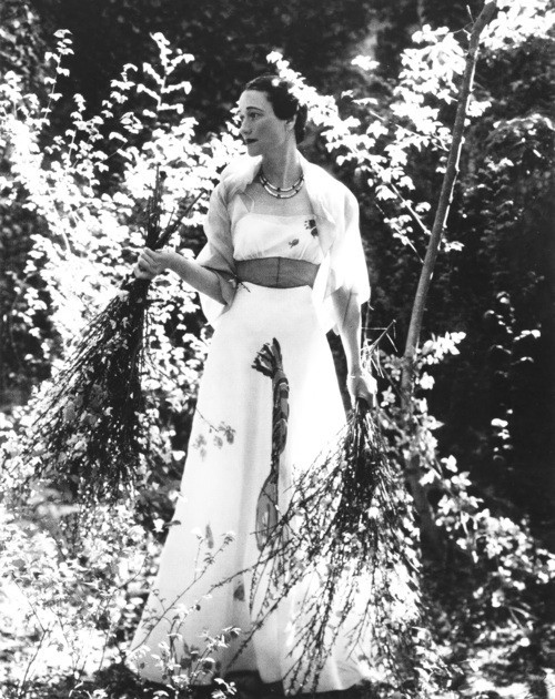 Wallis Simpson in Dali x Elsa Schiaparelli, Vogue, 1937