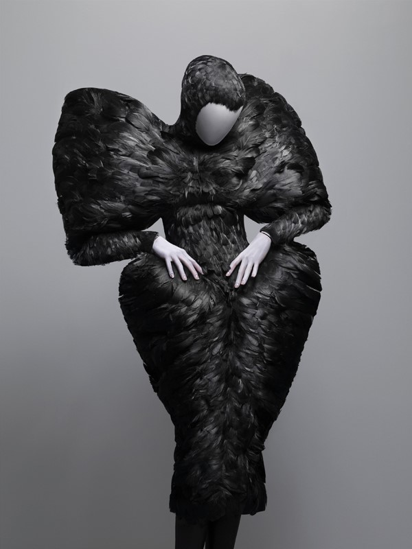 Alexander McQueen, Black Duck Feathers, Autumn/Winter 2009-2