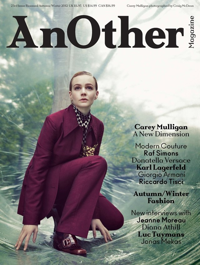 Carey Mulligan, AnOther Magazine A/W12