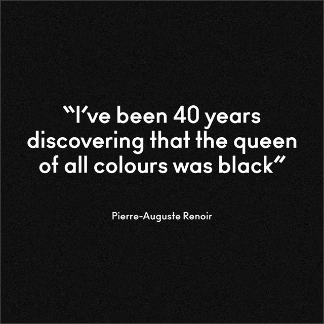 Black Color Fashion Quotes