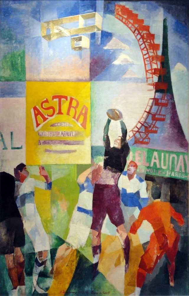 Robert Delaunay, The Cardiff Team, 1912–13