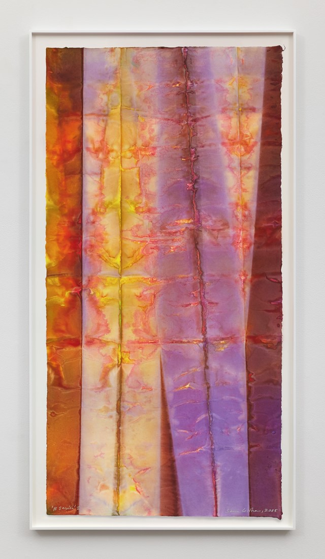 Sam Gilliam, B Series 2, 2015