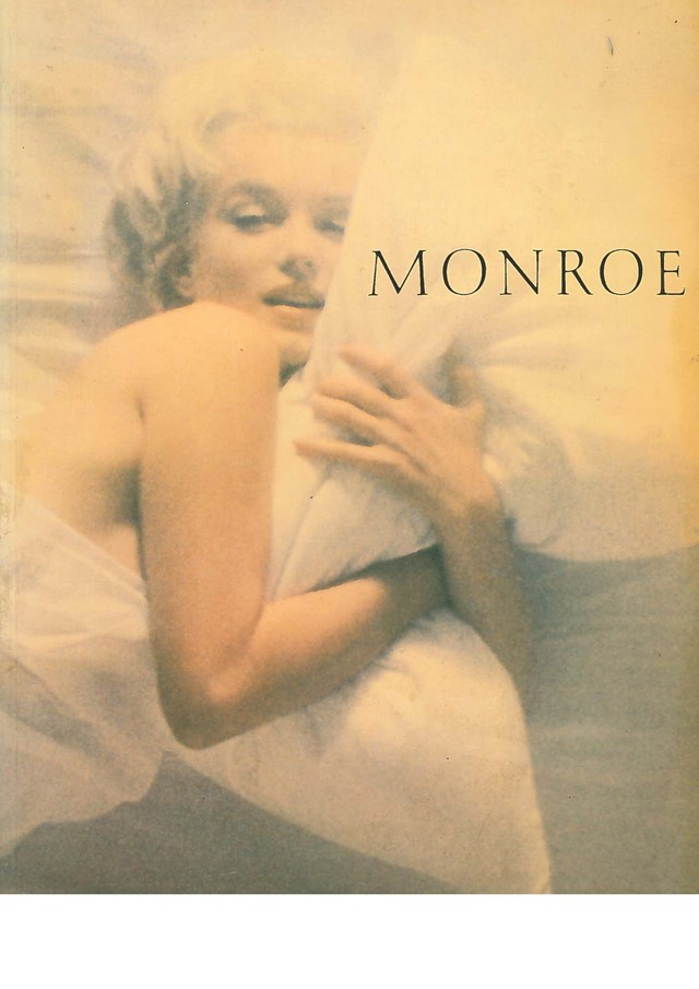 'Monroe her life in pictures' by James Spada with