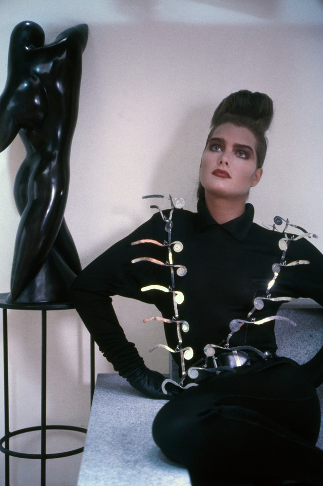 Brooke Shields, 1985, edition of 15, photo by Shei