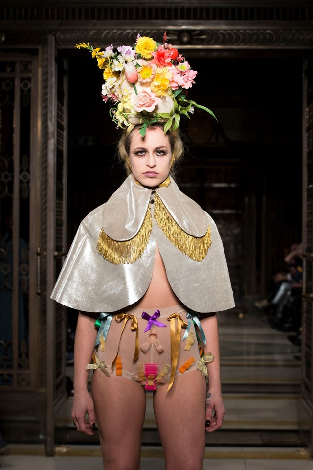 Pam Hogg, Diamond Dogs and Demons collection, A/W15