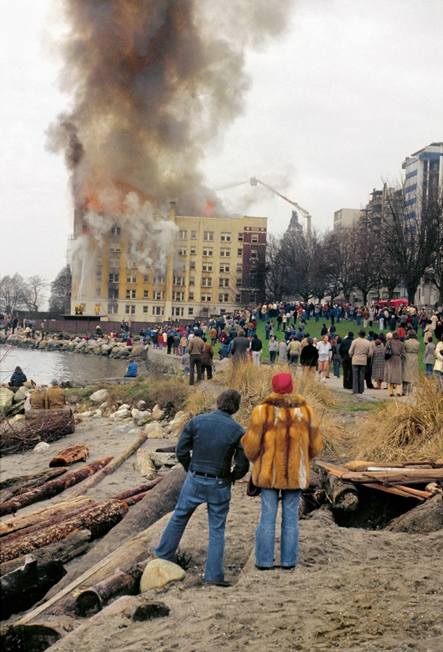 Fire, English Bay_1981