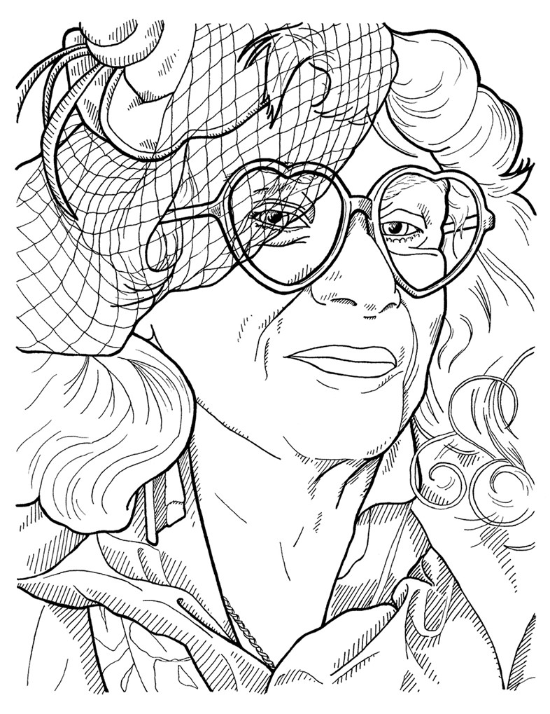 The Advanced Style Colouring Book | AnOther