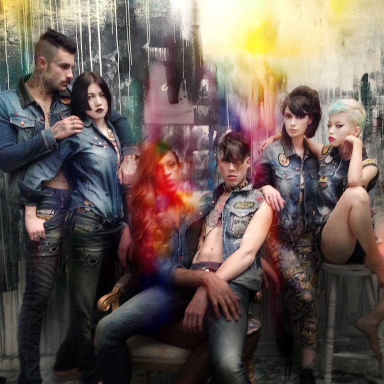 #DIESELTRIBUTE campaign by Nicola Formichetti and Nick Knigh