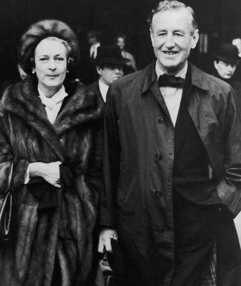 Ian Fleming And Ann Charteris The Real Mr And Mrs Bond Another