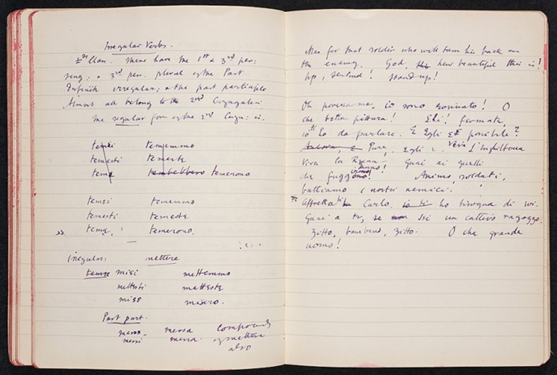 Virginia Woolf's Italian Notebook