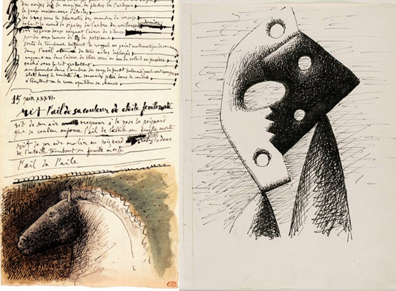 Pages from Picasso's notebooks