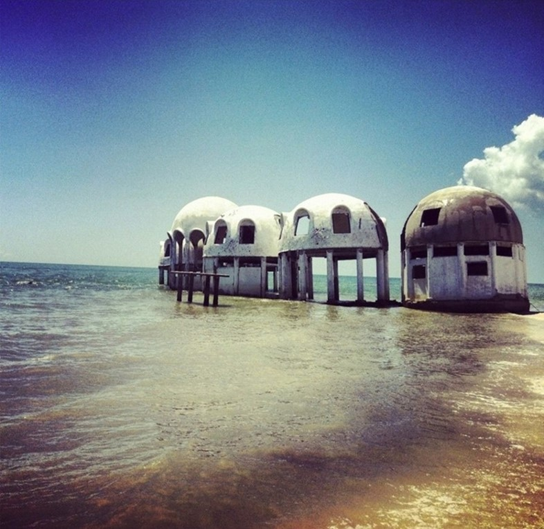 Dome houses in Southwest Florida