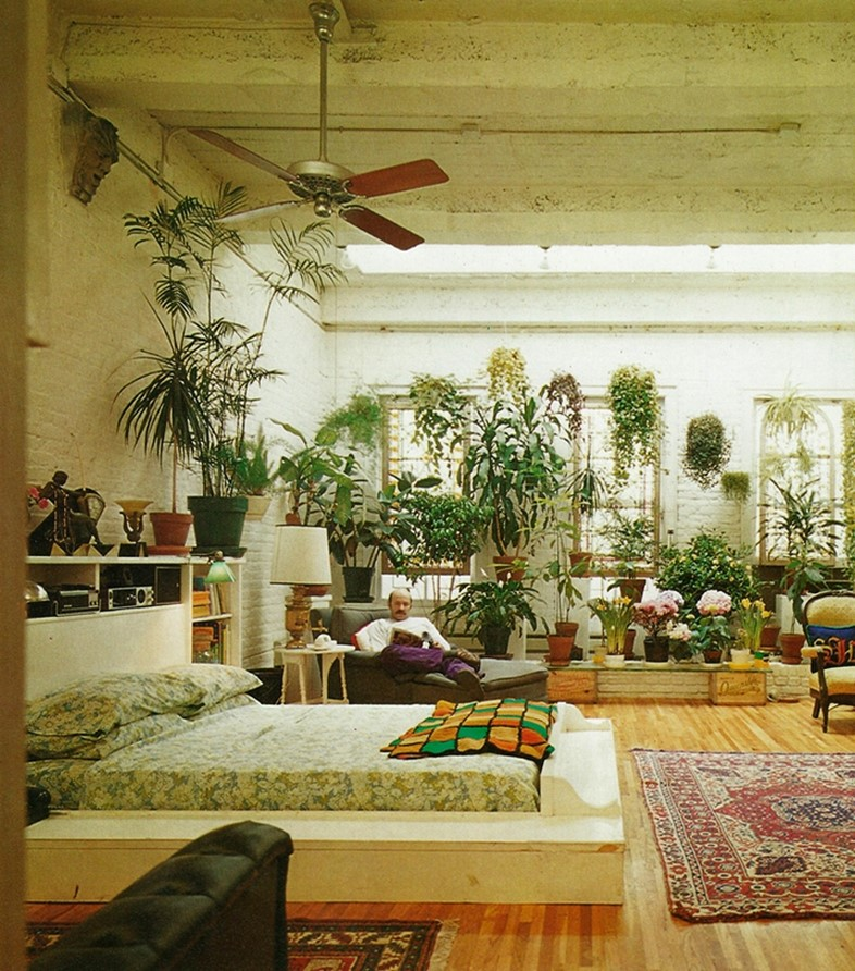 House plant heaven another for 70s apartment design