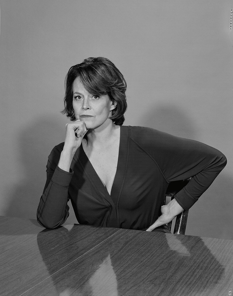 Sigourney Weaver for AnOther Magazine S/S15
