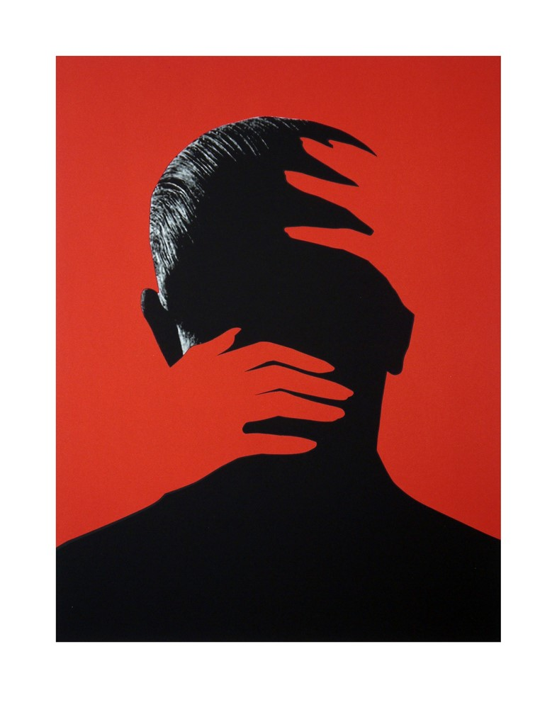 Joe Webb, Embrace Red Edition, Silkscreen on paper