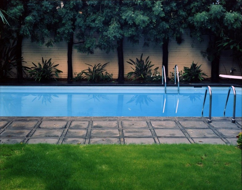 Bill Owens, Hockney Painted this Pool, 1980