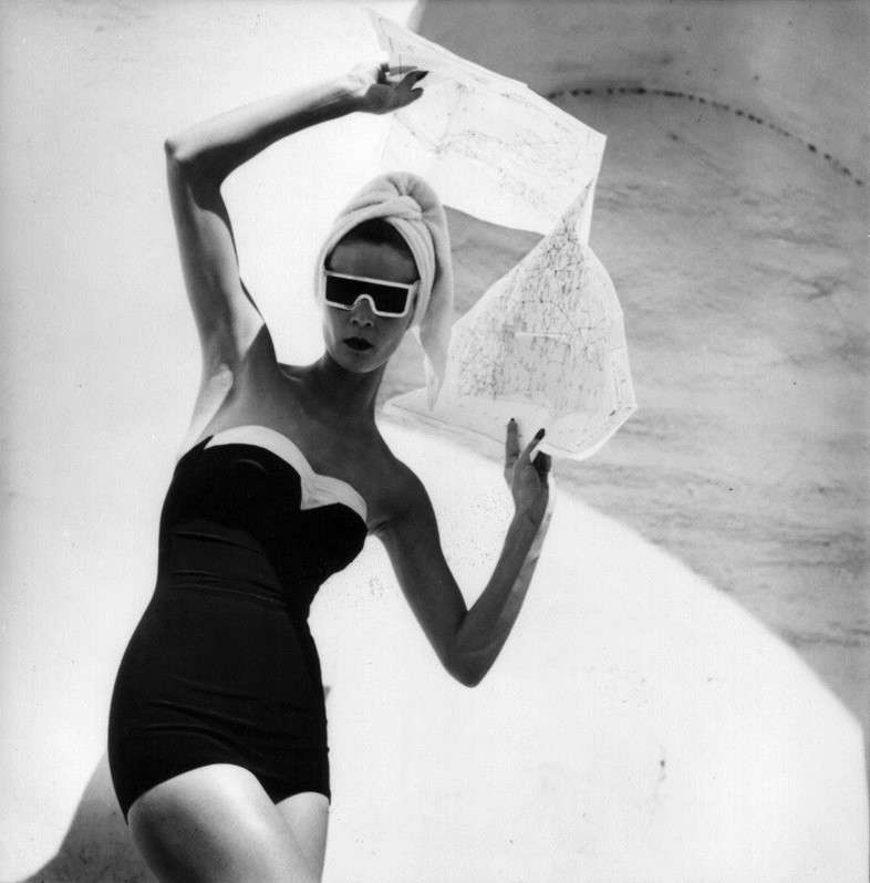 Louise Dahl-Wolfe, Jean Patchett, Grenada, Spain