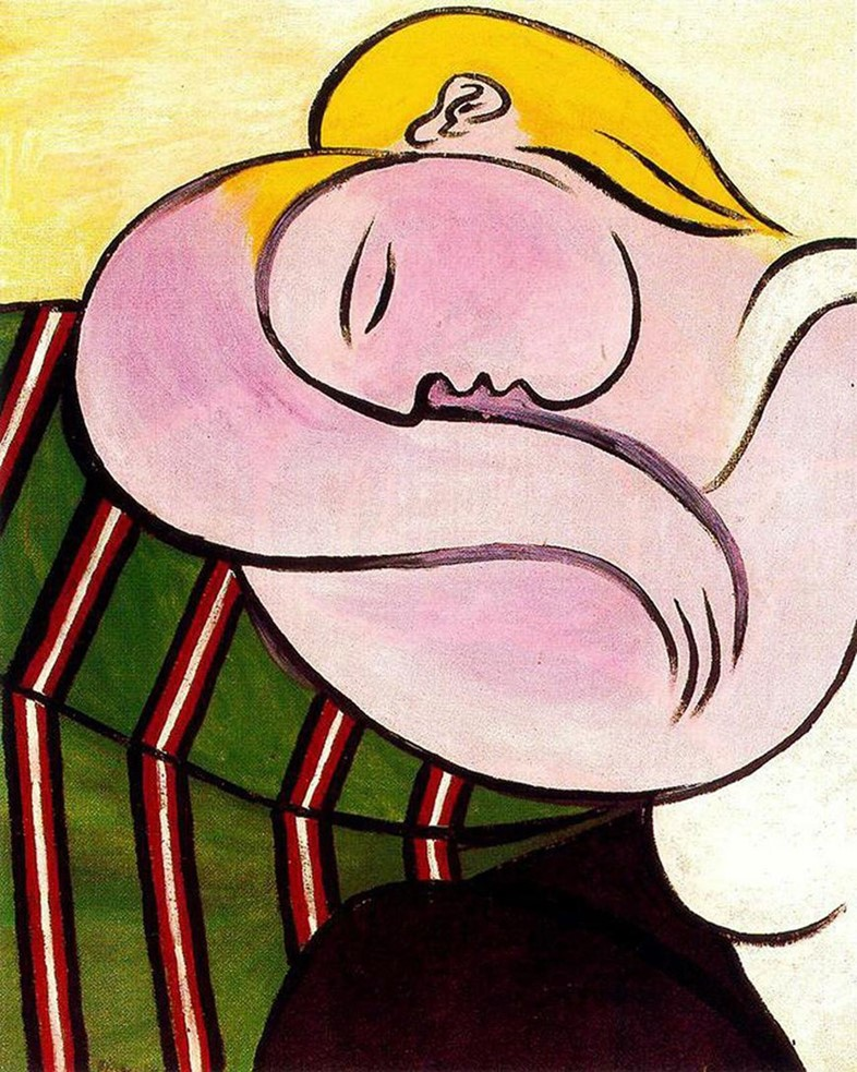Pablo Picasso, Woman with Yellow Hair, 1931
