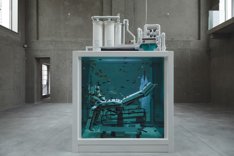 'Lost Love' (2000) by Damien Hirst