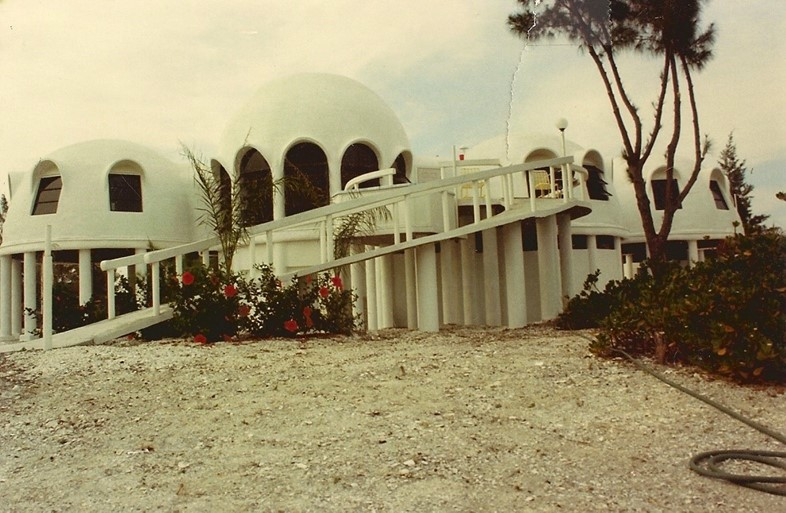 The Dome House in the 1980s