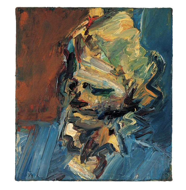 Frank Auerbach, Head of Catherine Lampert, 1986