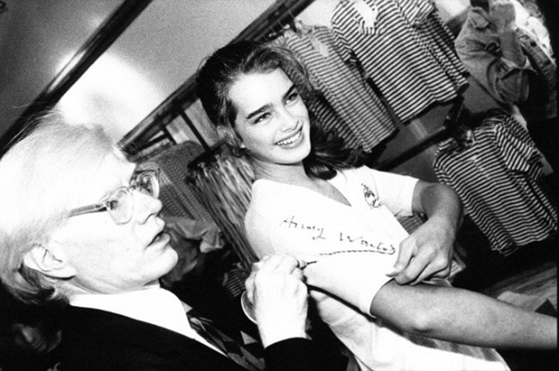 andy-warhol-and-brooke-shields-in-the-fiorucci-sto