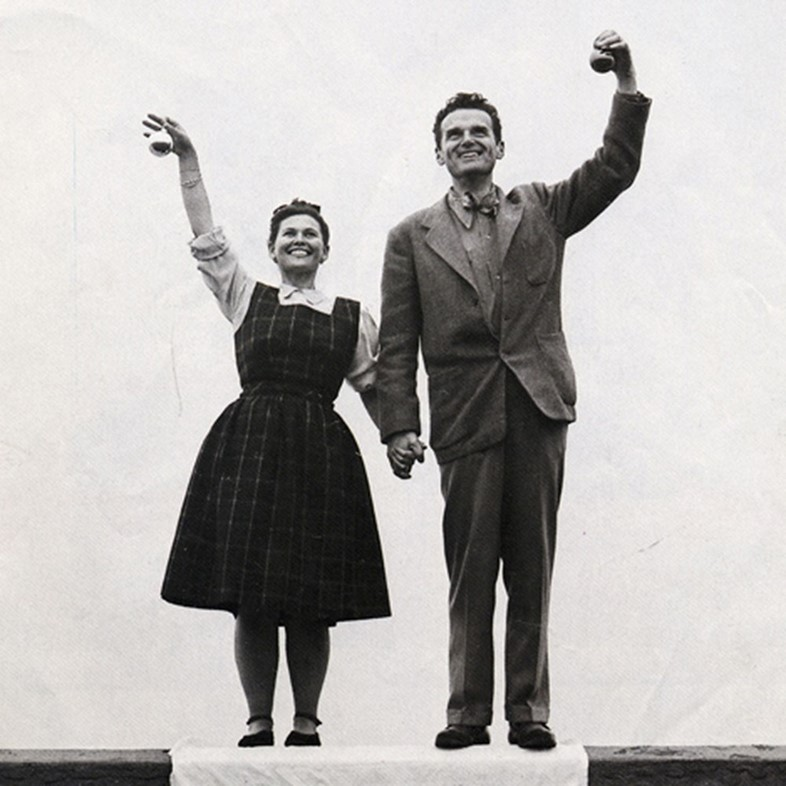 ten things you might not know about charles and ray eames. Black Bedroom Furniture Sets. Home Design Ideas