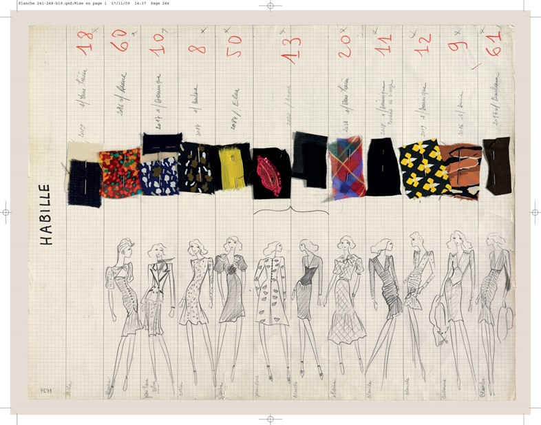 17_Yves_Saint_Laurent_Planche_de_collection