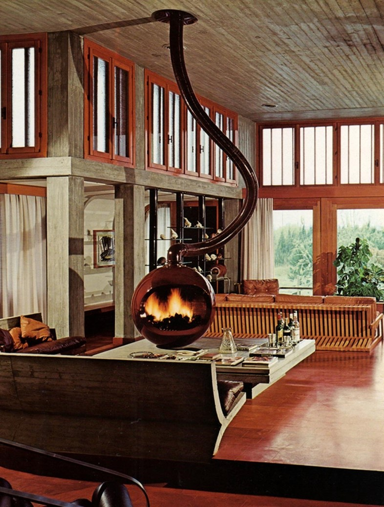 Weird And Wonderful Retro Fireplaces