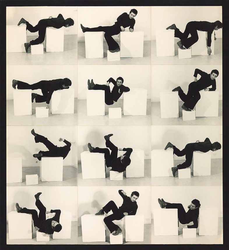Bruce McLean, Pose work for Plinths 3
