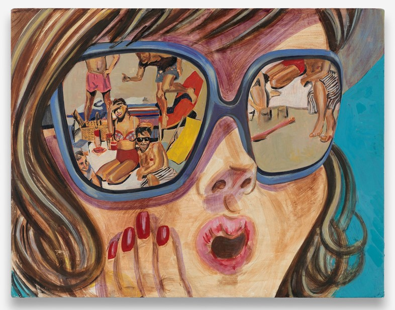 Girl with Sunglasses 2008