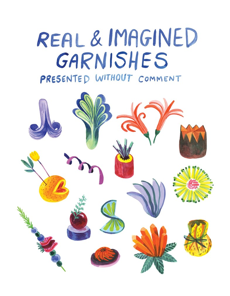 Real & Imagined Garnishes