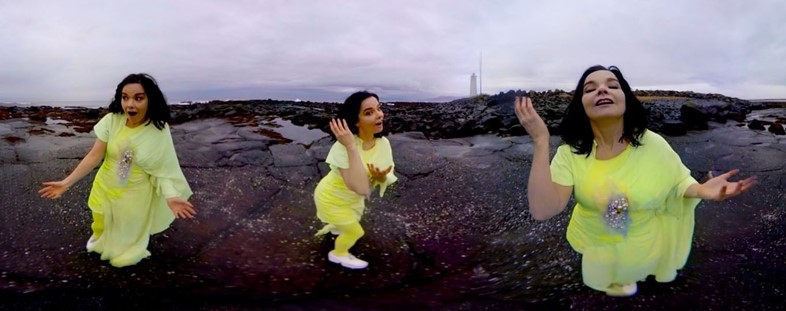5. Björk - Stonemilker VR (Photo Credit - Andrew