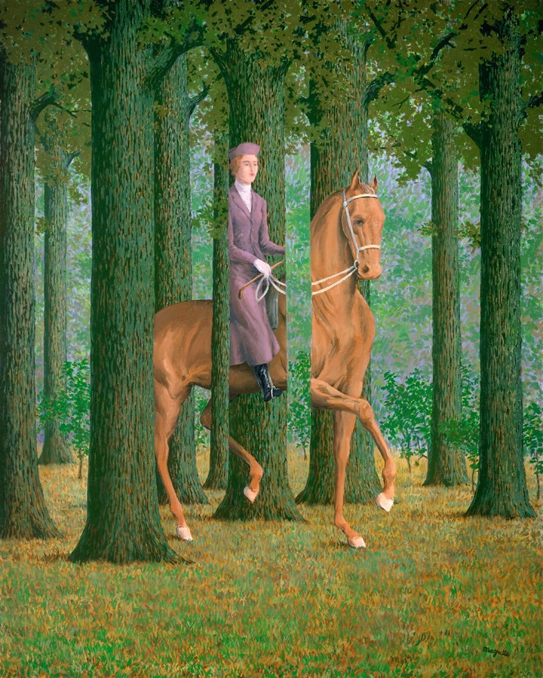 Magritte_Le Blanc-Seing_1965