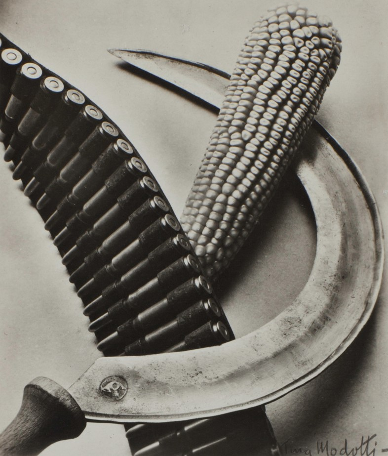 Tina Modotti Bandelier, Corn and Sickle