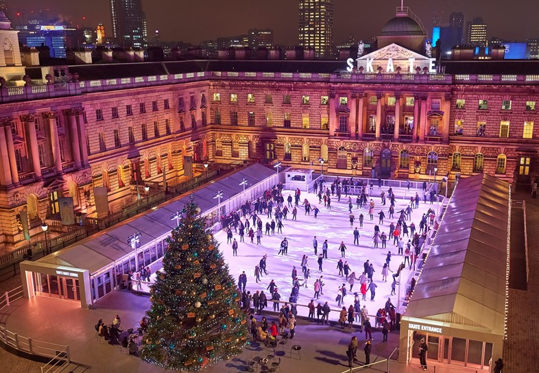 1. Skate at Somerset House with Fortnum Mason (c)